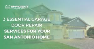 3 Essential Garage Door Repair