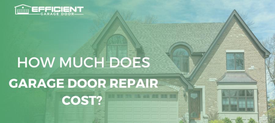 Garage Door Repair Cost